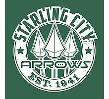 Starling City Arrows Version V02 Photographic Print