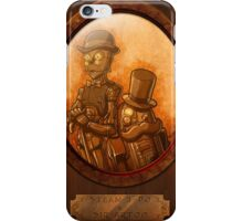 Steam 3-PO and Sir Artoo iPhone Case/Skin