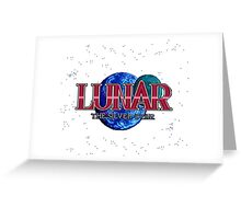 Lunar The Silver Star (Sega CD) Title Screen Greeting Card