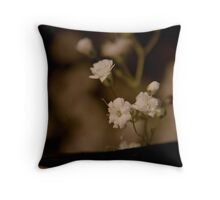 Small in Sepia  Throw Pillow