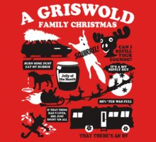 A Griswold Family Christmas Quotes by waywardtees