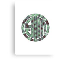 TSM Cloudy Green Sea Canvas Print