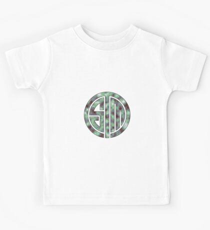 TSM Cloudy Green Sea Kids Tee