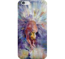 Ballerina Adjusting The Ribbons - Art iPhone Case/Skin