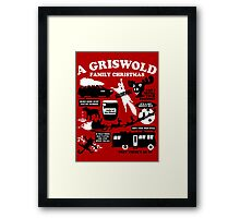 A Griswold Family Christmas Quotes Framed Print