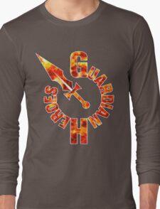 Guardian Heroes (Sega Saturn) Title Screen Long Sleeve T-Shirt