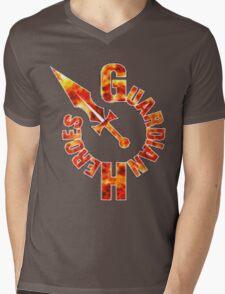 Guardian Heroes (Sega Saturn) Title Screen Mens V-Neck T-Shirt