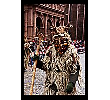 Wild Man Photographic Print