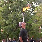 the man ablaze by joshua jacobson