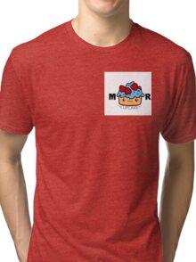 Mister Cupcakie Logo Tri-blend T-Shirt