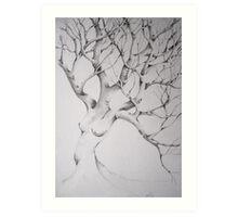 women tree Art Print