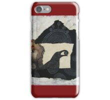 """Raven's Treasure"", Mixed media Collage iPhone Case/Skin"