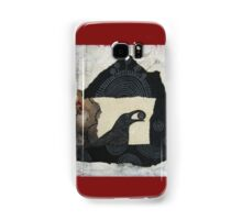 """Raven's Treasure"", Mixed media Collage Samsung Galaxy Case/Skin"