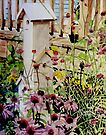 Backyard Birdhouse Condo by Jim Phillips