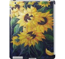 Dancing Sunflowers iPad Case/Skin