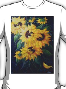 Dancing Sunflowers T-Shirt
