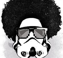 Star Wars Afro Trooper by pribellafronte