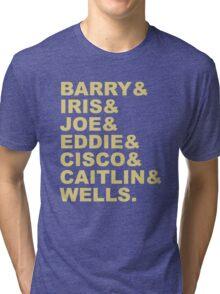 The Flash (Fandom Names) Tri-blend T-Shirt