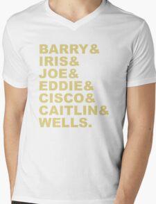 The Flash (Fandom Names) Mens V-Neck T-Shirt