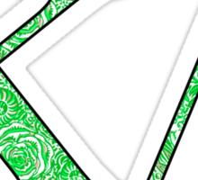 Kappa Delta Lilly Letters Sticker
