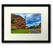 Colors of the Australian Outback Framed Print