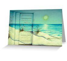 Door of Perception Greeting Card