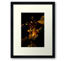 Ritual by Fire Framed Print