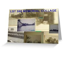 LST 598 Collage Greeting Card