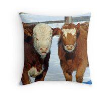 What a pair!!! Throw Pillow