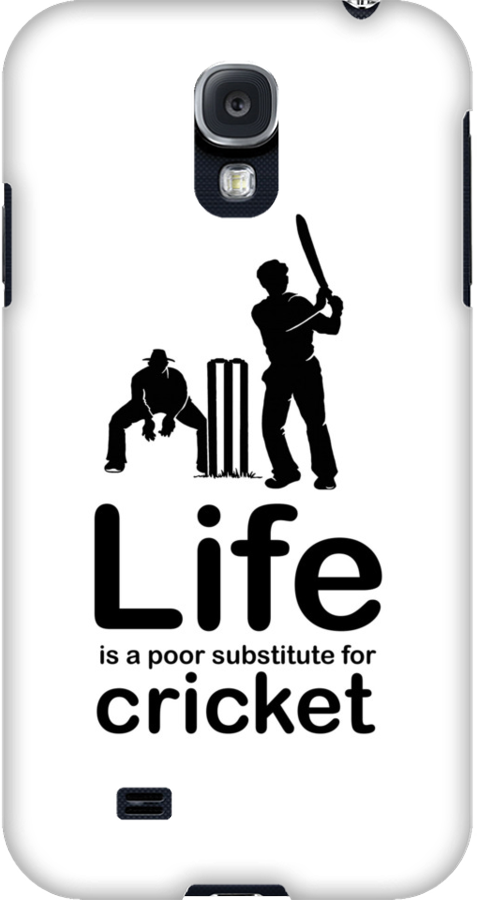 Cricket v Life - Black Graphic by Ron Marton