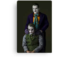 The Jokers Canvas Print