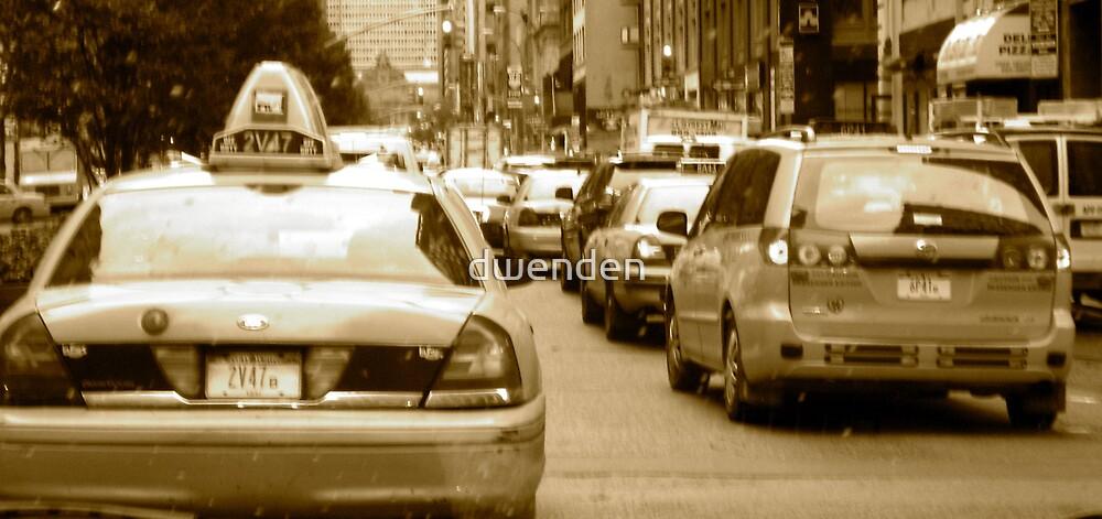 A typical day in Manhattan by dwenden