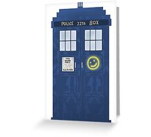 Sherlock's Tardis Greeting Card