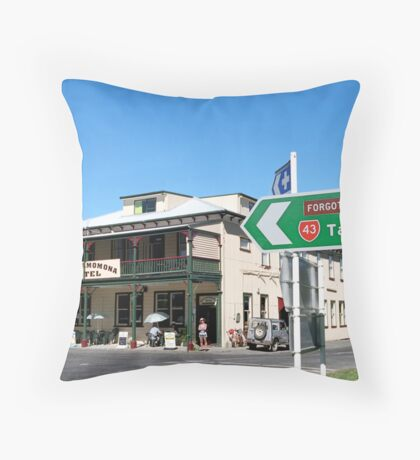 visa office Throw Pillow