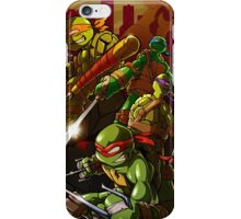 Heroes in a Half Shell iPhone Case/Skin