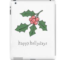 Happy Hollydays iPad Case/Skin