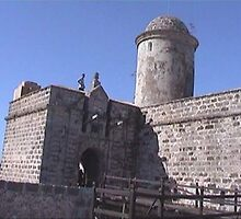 castle Jagua, Cienfuegos, Cuba by chord0