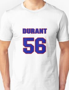 National football player Justin Durant jersey 56 T-Shirt