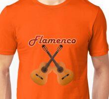 Flamenco  Guitar Unisex T-Shirt