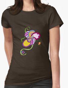 Funky Abstract Flower T-shirt T-Shirt