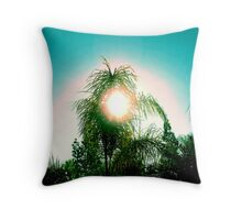 Sun and Tree Love Throw Pillow