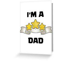 Clash of Clans - I'm a Three Star Dad Greeting Card