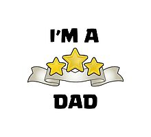 Clash of Clans - I'm a Three Star Dad Photographic Print