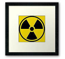 Radioactive Framed Print