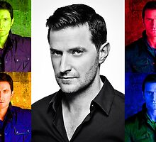 Richard Armitage Pop-Art Collage by Heike Richter