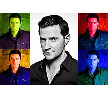 Richard Armitage Pop-Art Collage Photographic Print
