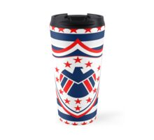 a Redesign of the American Flag Travel Mug