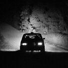 Rally into the night by Simon Hodgson