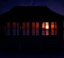 Pier Hut by Carl Osbourn