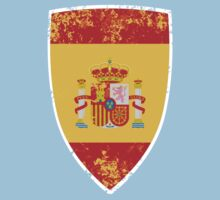 Flag of Spain Kids Clothes